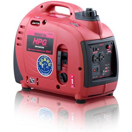 【送料無料!】ワキタ インバーター発電機 HPG900iレジャーやDIY、非常用電源などあらゆるシーンで大活躍!