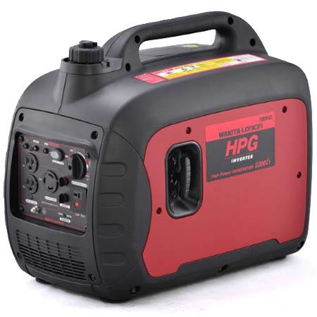 【送料無料!】ワキタ インバーター発電機 HPG2300iSレジャーやDIY、非常用電源などあらゆるシーンで大活躍!