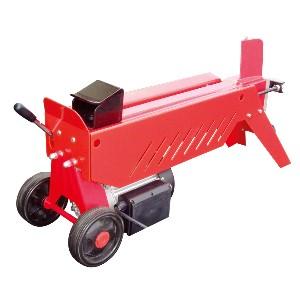 【送料無料!】ナカトミ 油圧式薪割機 LS-4タイヤ付きで移動も簡単 4トンの力強い油圧の力