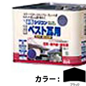 【送料無料!】ニッペ 水性シリコンベスト瓦用7L ブラック塩害・紫外線・酸性雨に強い、高級かわら屋根用塗料。