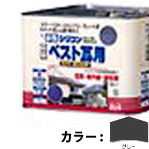 【送料無料!】ニッペ 水性シリコンベスト瓦用7L グレー塩害・紫外線・酸性雨に強い、高級かわら屋根用塗料。