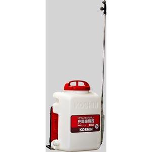 【送料無料!】4201 工進 背負式充電噴霧器 霧仙人 10Lバッテリー長持ちのコンパクト機!
