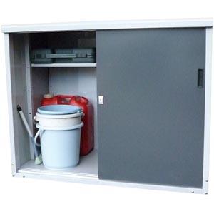 【送料無料!】 タカヤマ物置 TMR-1209小型タイプの屋外物置です。