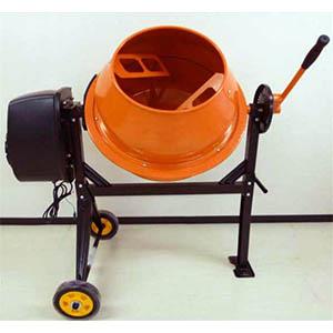 【送料無料!】シンセイ 電動ミキサー 使用可能容積70L SDM-70コンクリートの混合から、肥料や用土、園芸用土つくりに最適