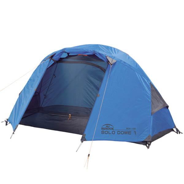 【送料無料!】BUNDOK ソロドーム1 BDK-08ソロキャンパーに最適なジュラポールのテント