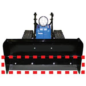 【送料無料!】ササキコーポレーション オスーノ ゴムスクレバー 電動ラッセル除雪機、オ・スーノ用オプションです。