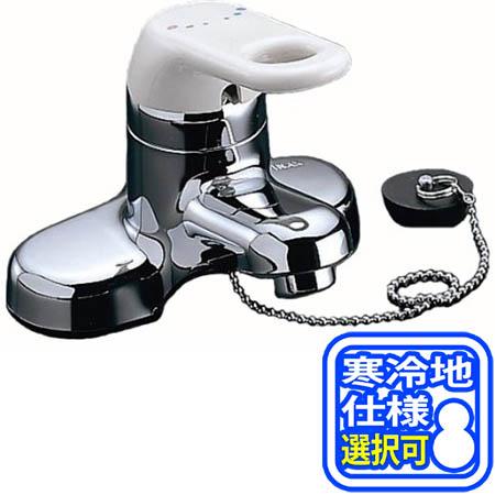 【送料無料!】LIXIL(INAX) シングルレバー混合栓 RLF-402(N) ※寒冷地仕様あり※ 洗面用水栓