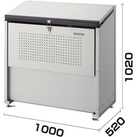 【送料無料!】ダイケン クリーンストッカー CKE-1000狭い場所でも設置できる奥行520mmの省奥行タイプ