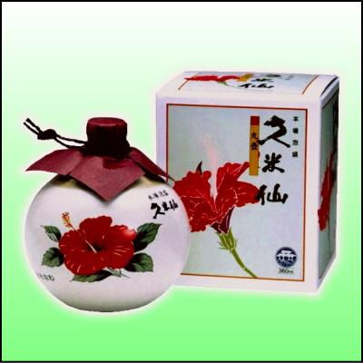 Kumejima no kumesen distillery 2 bottle hibiscus 30 degrees 360 ml