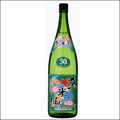 父の日ギフト 送料無料 久米仙 一升瓶 グリーン 30度 6本セット【沖縄】【泡盛】【焼酎】