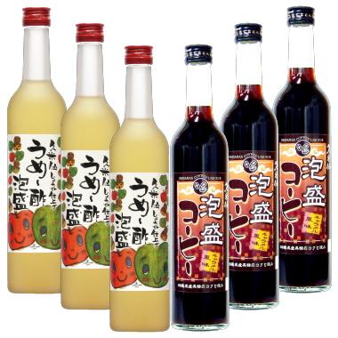 "Hong Kong limitation ""dainty food Japan"" うめー vinegar Awamori three Awamori coffee three set 10P03Sep16"