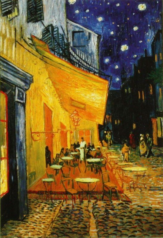 1053スーパースモールピースジグソーパズル 夜のカフェテラス(ゴッホ) 《廃番商品》
