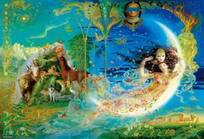 【引上品】1000ピースジグソーパズル 迷宮の神話~The Magic of Od.~(キヌコ) 《廃番商品》