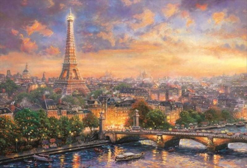 1000ピースジグソーパズル シティ オブ ラブ ~パリ~(トーマス・キンケード) 《廃番商品》