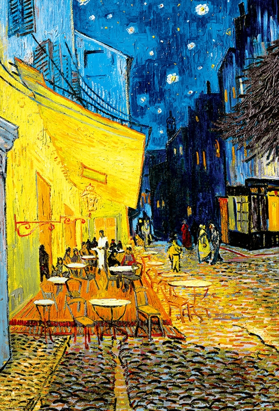 1000ピースジグソーパズル 夜のカフェテラス(ゴッホ) 《廃番商品》