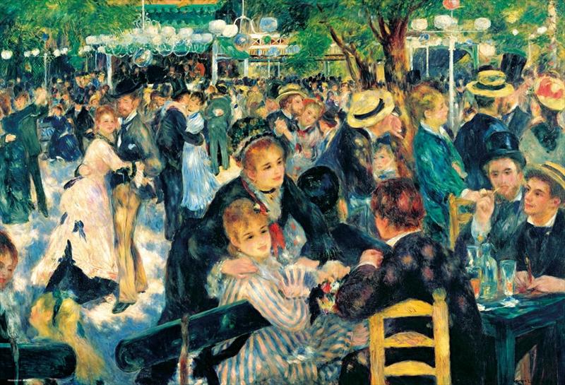 1000ピースジグソーパズル ムーラン・ド・ラ・ギャレットの舞踏場(ルノワール) 《廃番商品》