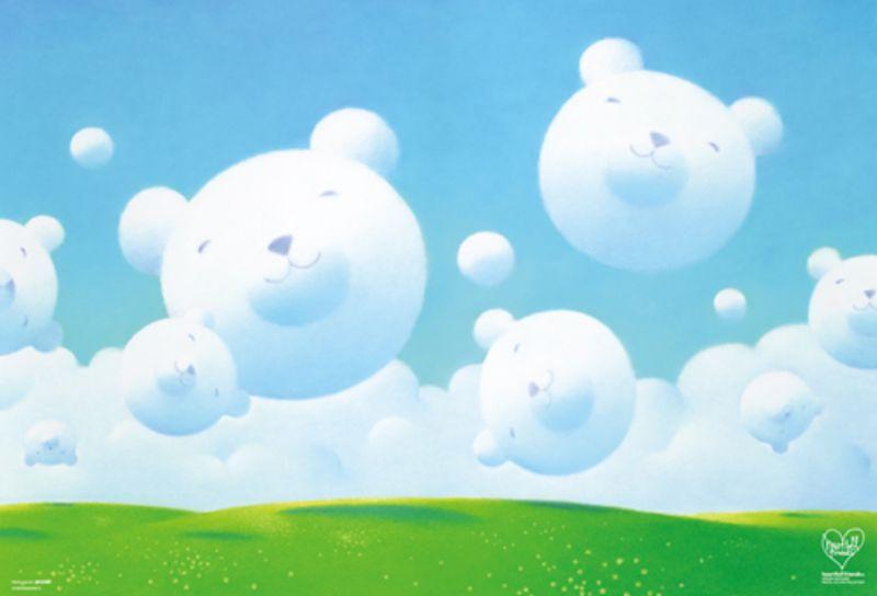 1000ピースジグソーパズル 笑顔のおくりもの(渡辺宏) 《廃番商品》