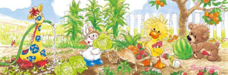 【引上品】954ピースジグソーパズル Happy Harvest(スージーズー) 《廃番商品》