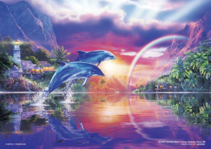 108ピースジグソーパズル 永遠の楽園(CRラッセン) 《廃番商品》