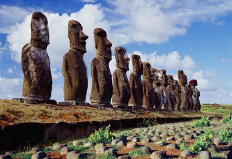 1000マイクロピースジグソーパズル イースター島 モアイ像 《廃番商品》
