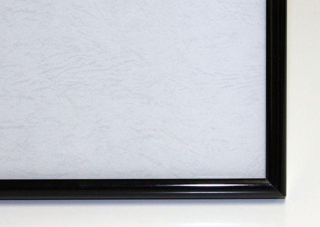 ジグソーパズル用アルミ製フレーム アルミパネル 73×102cm(20-T)ブラック