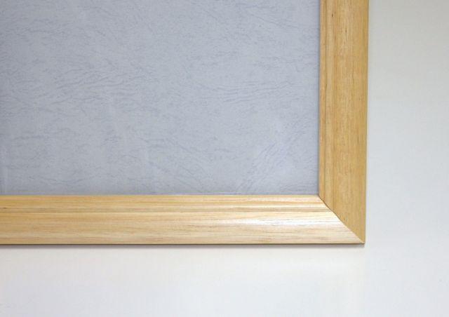 ジグソーパズル用木製フレーム 木製パネル(18.2×25.7cm/1-ボ)ナチュラル