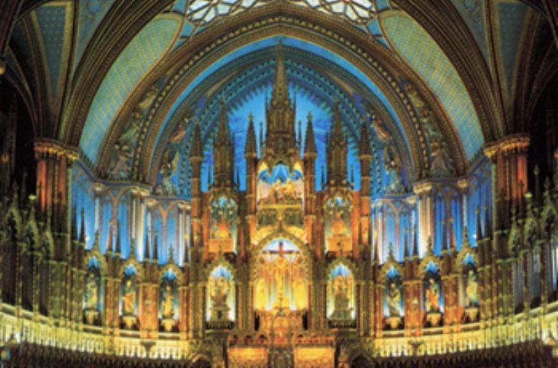 1000ピースジグソーパズル ハイビジョン ノートルダム大聖堂 《廃番商品》