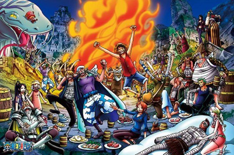 1000ピースジグソーパズル ワンピース 宴だ~~~!!! 《廃番商品》