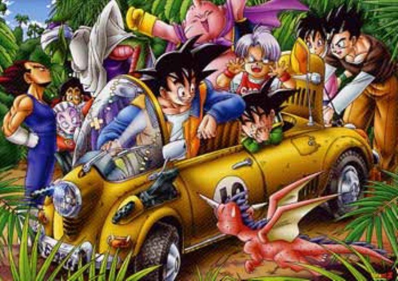 1000ラージピースジグソーパズル ドラゴンボールZ ジャングルドライブ 《廃番商品》