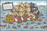 500ピースジグソーパズル ウォーリー Pirate Panorama 《廃番商品》