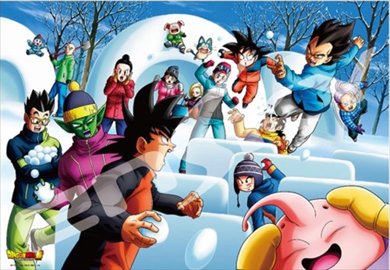 1000ピースジグソーパズル ドラゴンボール超 雪合戦 《廃番商品》