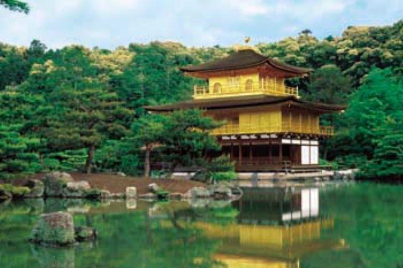 1000ピースジグソーパズル 金閣寺-京都 《廃番商品》