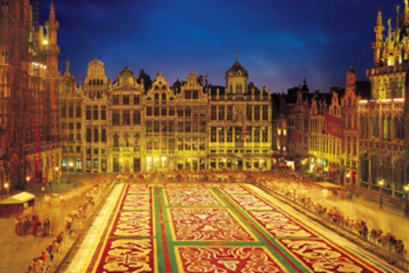 【引上品】1000ピースジグソーパズル ブリュッセルのグラン・プラス「ベルギー] 《廃番商品》