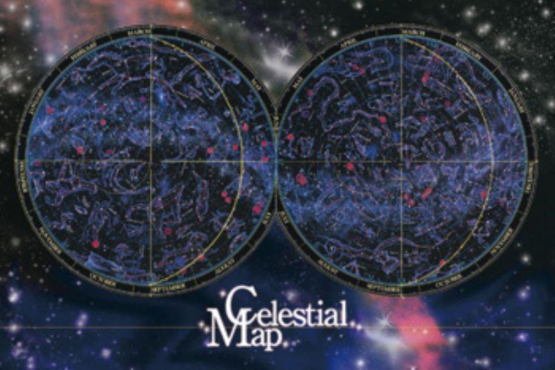 1000ピースジグソーパズル 全天星図 《廃番商品》