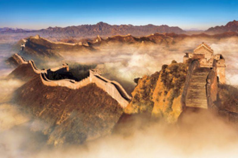 【引上品】1500スモールピースジグソーパズル 万里の長城III[中国] 《廃番商品》