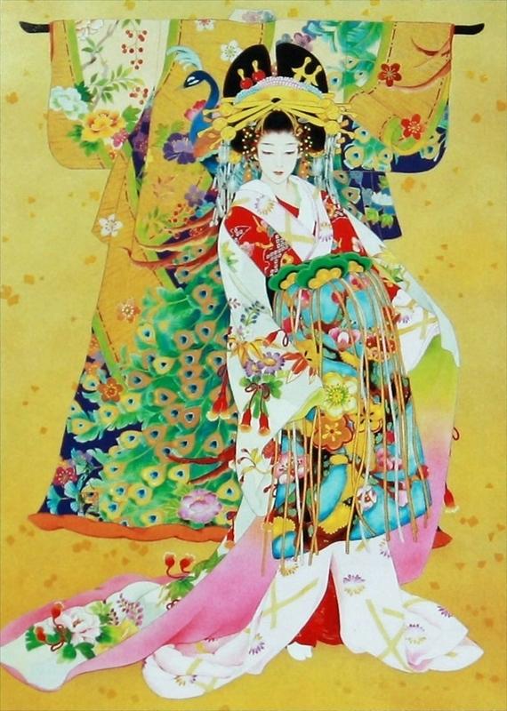 500ピースジグソーパズル 黄金雅(こがねみやび)(春代) 《廃番商品》