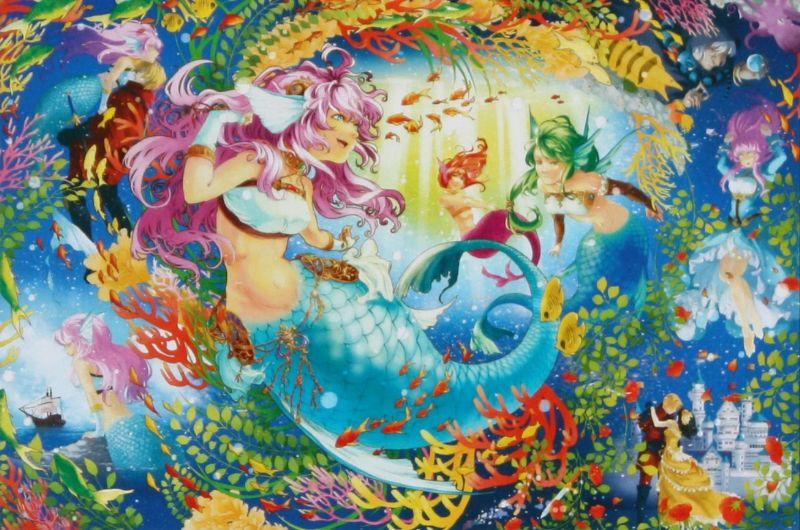 1000ピースジグソーパズル 人魚姫物語 《廃番商品》
