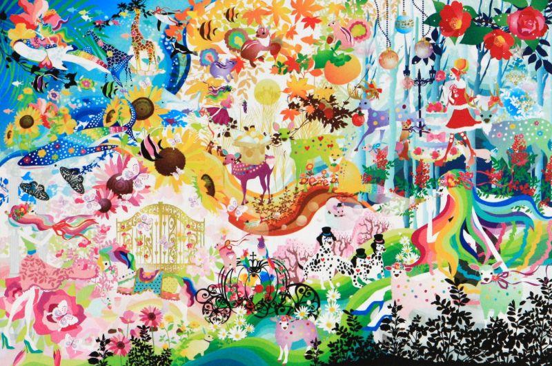 【引上品】1000ピースジグソーパズル 変わりゆく色の流れに想いをのせて(ホラグチカヨ) 《廃番商品》