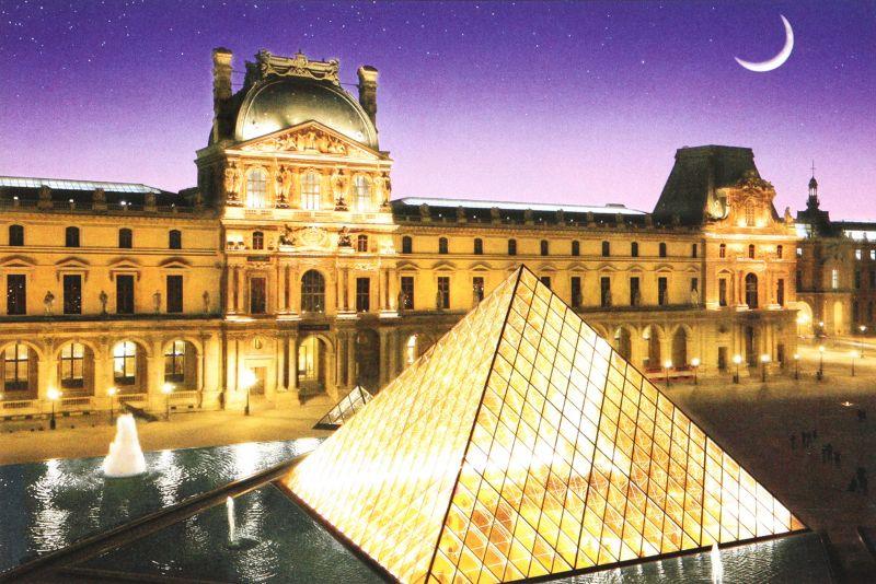 1000ピースジグソーパズル パリのセーヌ河岸VII-ルーヴル美術館[フランス] 《廃番商品》