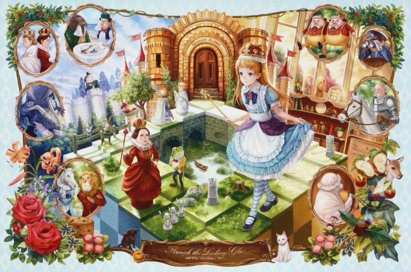 1000ピースジグソーパズル 鏡の国のアリス物語 《廃番商品》