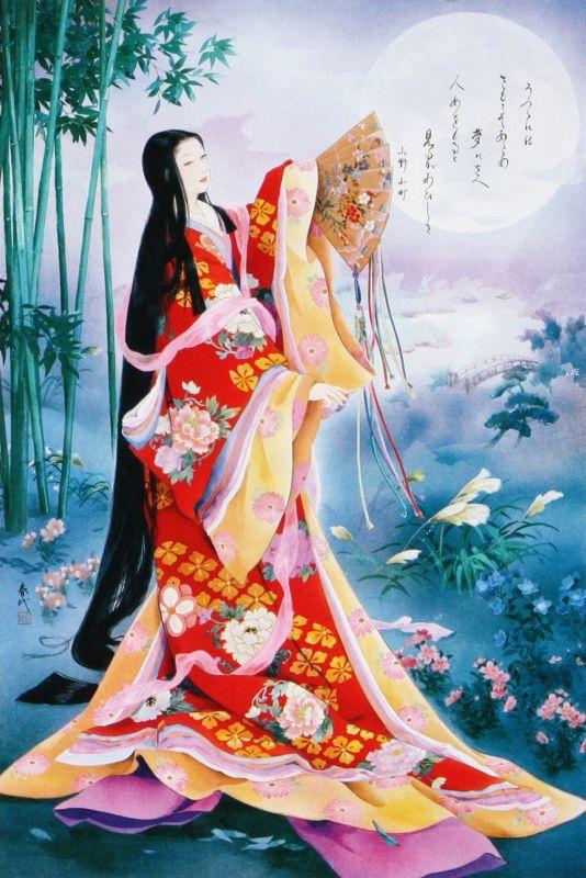 1000ピースジグソーパズル 夢見歌(春代) 《廃番商品》