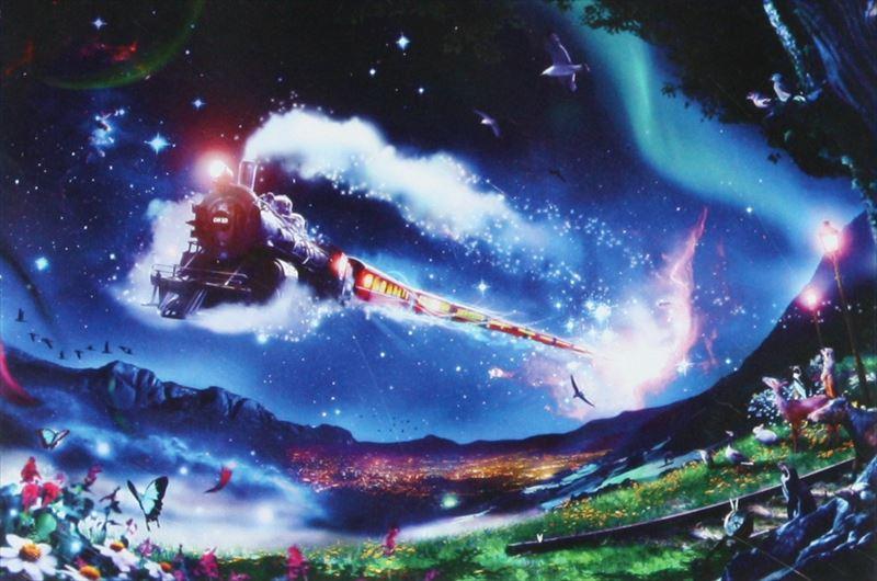 1000ピースジグソーパズル 銀河鉄道-時空を超えて-(楠田諭史) 《廃番商品》