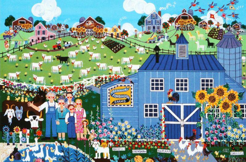2016ベリースモールピースジグソーパズル フレッドさんの農場(セヴ・アイックス) 《廃番商品》