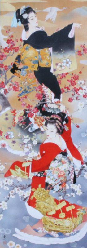 420スモールピースジグソーパズル 鶴亀寿(かくきじゅ)(春代) 《廃番商品》