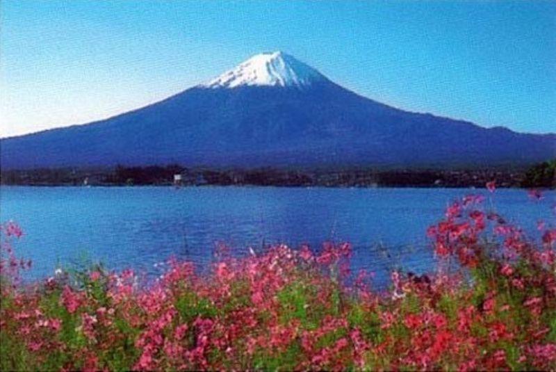 1000ピースジグソーパズル 河口湖と富士山 《廃番商品》