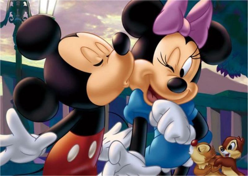 【引上品】108ピースジグソーパズル ミッキーの♥♥♥ 《廃番商品》
