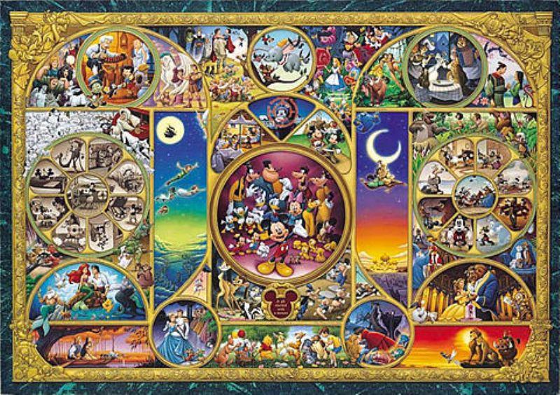 【引上品】2000ピースジグソーパズル ディズニーキャラクターワールド 《廃番商品》