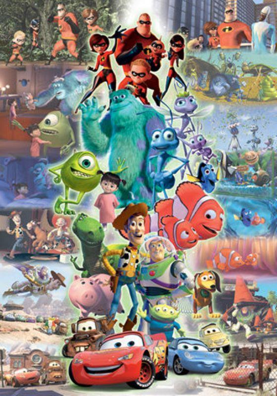 315スモールピースジグソーパズル ピクサーオールキャラクターズ 《廃番商品》