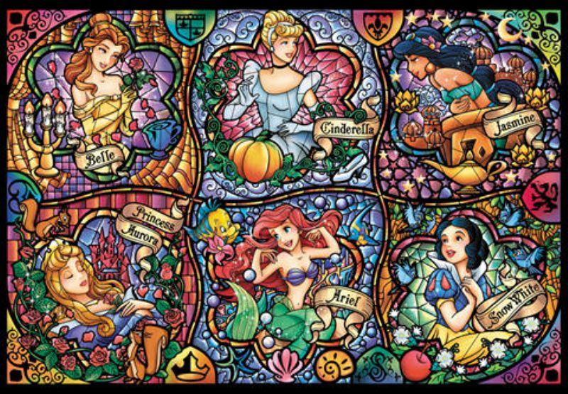 【引上品:シュリンク破れあり】ステンドアート150ピースジグソーパズル ブリリアントプリンセス 《廃番商品》
