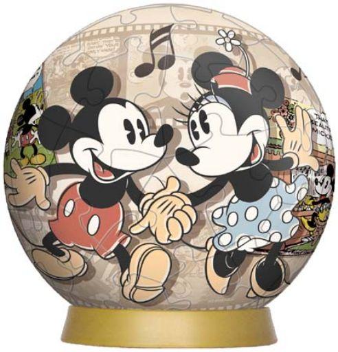 【引上品】3D球体60ピースジグソーパズル ミッキーストーリーズ 《廃番商品》